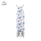 Wooden Top Ironing Board Table Iron Board Cover