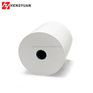 3 1/8 x 230 ft Thermal Blank Printing Paper Roll Plastic Core Paper Roll