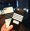 3D relief simple stripes silicon phone case for iPhone 6s plus
