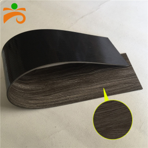 PVC SPC material black vinyl laminate flooring with good prices