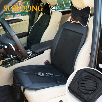 Best Seller 12V Cooling Car Seat Cushion Cover Air Ventilated Fan Conditioned Cooler Pad