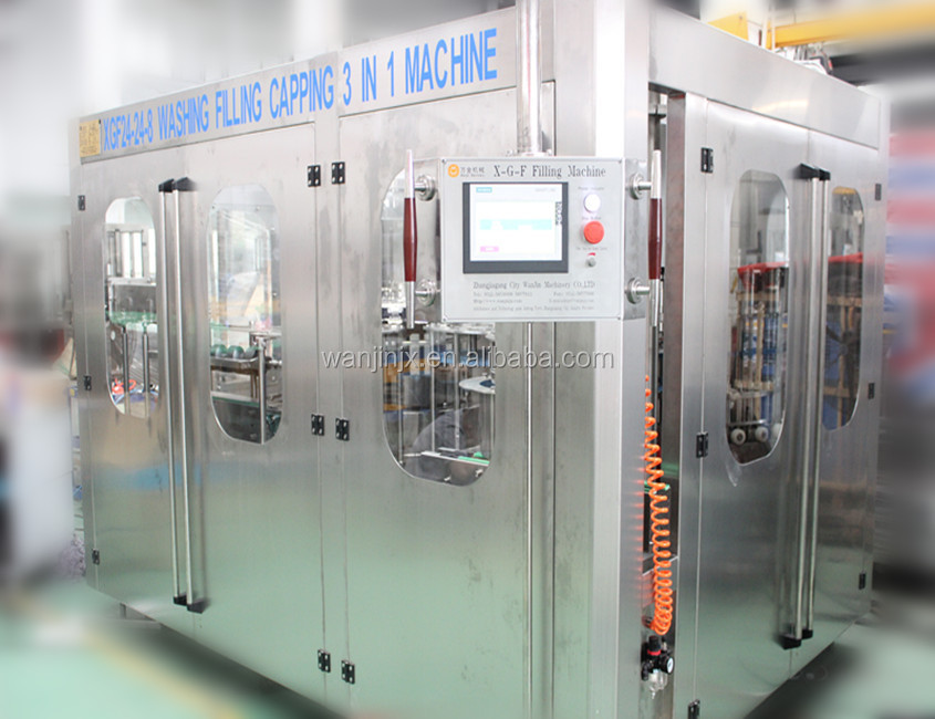 Automatic bottle beverage manufacturing equipment