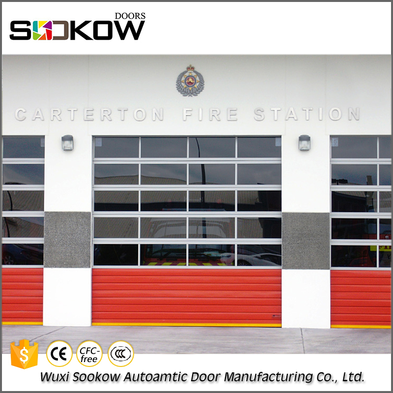 Top products steel double commercial industrial sliding door