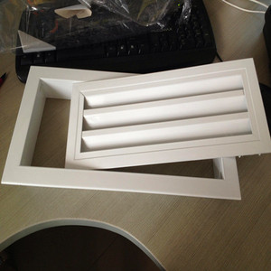 Hinged return air filter grille for air conditioning