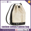 Organic Canvas Tote Bag Custom Made Cotton Fabric Bag