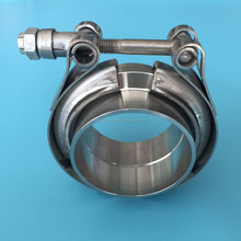 Stainless Steel V Band Clamp Flange Kits for Turbo Exhaust Downpipe