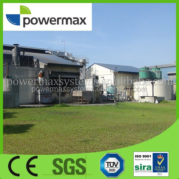 Modular design CHP biomass gasification gas engine generator