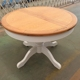 Living Room Furniture Folding Expandable Round Dining Table Extendable Dining Table