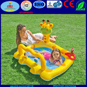 Activity Cute Giraffe Inflatable Baby Pool