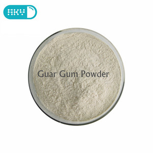 Supply 100% natural Food Additives Guar Gum Powder guar gum price