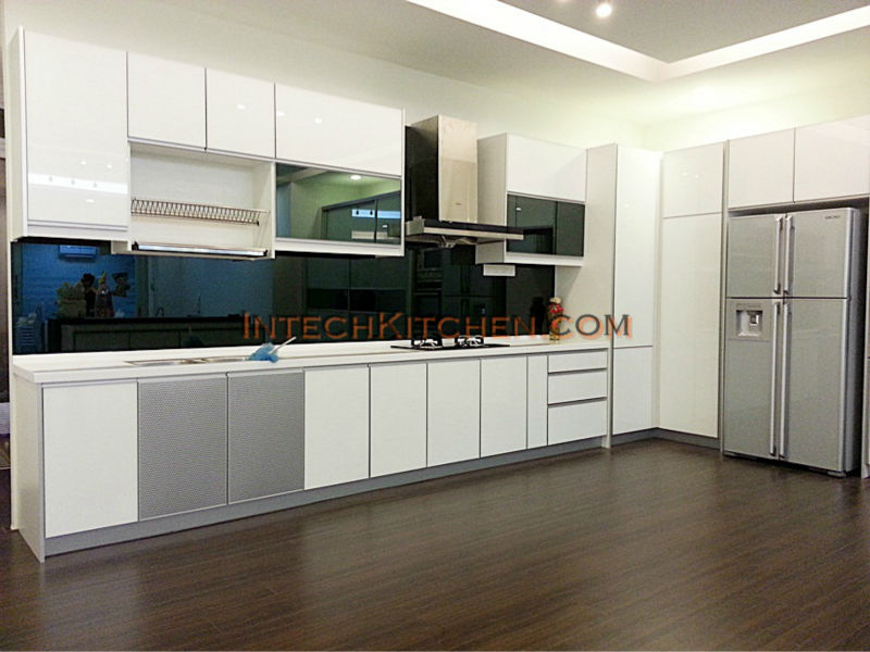 4g Glass Door With Quartz Top Buy Kitchen Cabinet Product On