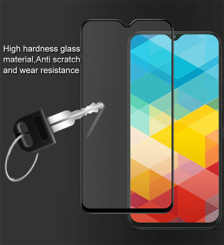 In Stock Silk Print Tempered Glass Screen Protector For Samsung M20 9H 3D Screen Protector Tempered Glass