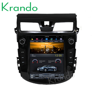 "Krando Android 10.4"" Vertical screen car radio player with gps for Nissan Teana Altima 2013+ navigation system KD-NV113"