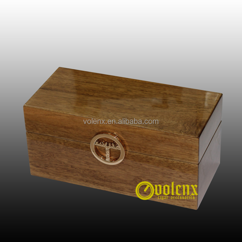 Olive solid wood glossy finish wooden craft box