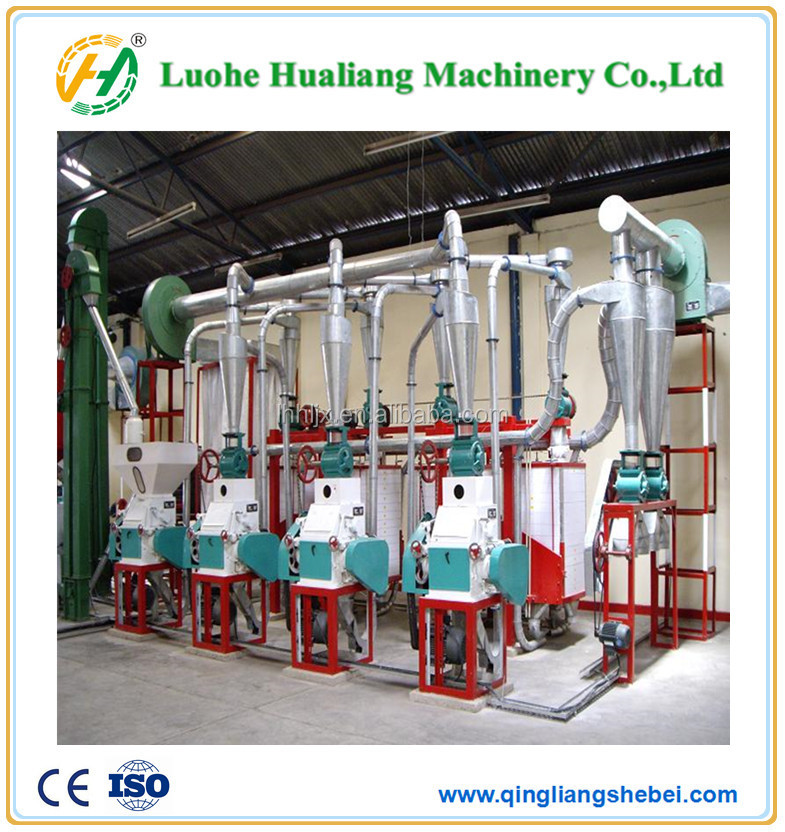 50 ton per day flour mill machine for grain packing machines price