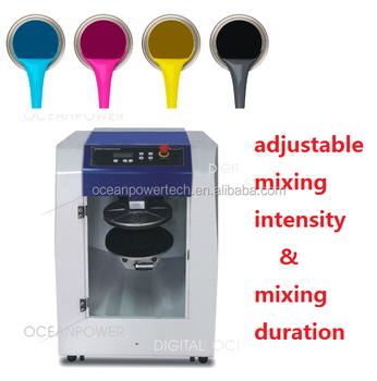 Pintura Automática Máquina Mezcladora/giroscópico Pintura Colorante ...