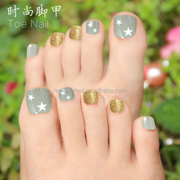 2017 Newair-new Design Artificial Toe Nails Abs Fake Toe Tips For ...