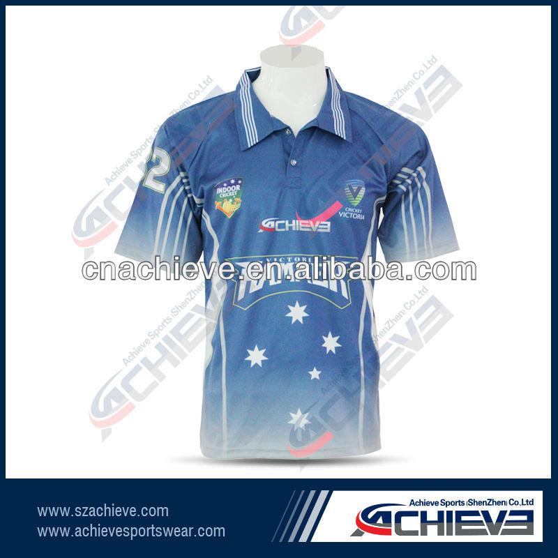 Custom Men's New Style Cricket Jerseys