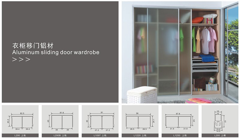 Hot sale waterproof aluminum alloy sliding door anodized casting aluminum doors