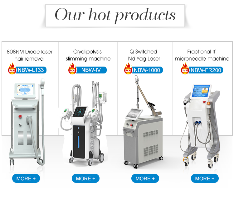 Korea imported 7 joints light guiding arm tattoo removal machine laser nd yag q-switched for salon