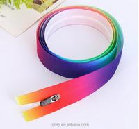 Manufacturers Waterproof Printing Zipper High Grade Special Zipper Color Printing Zipper For Jackets and Ski-wear
