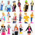 5 Sets Outfit Unique Design Handmade Doll Dresses Clothing Suit Coat Pants Accessories For Kurhn Barbie