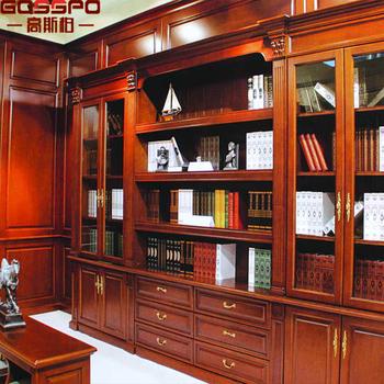 Gsp9-031 Kantoor Antieke Houten Boekenkast Plank Kast - Buy Office ...