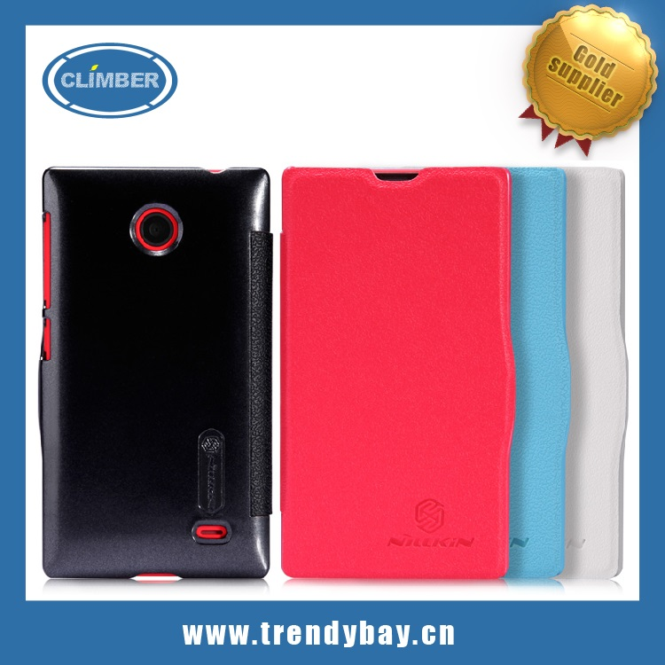Nillkin fresh series leather case for Nokia X