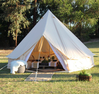 Heavy duty canvas army tent military bell tent