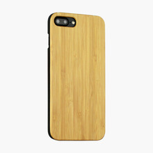 Bamboo real Wood Back Case For iPhone7 7plus wood mobile phone case for iphone 7
