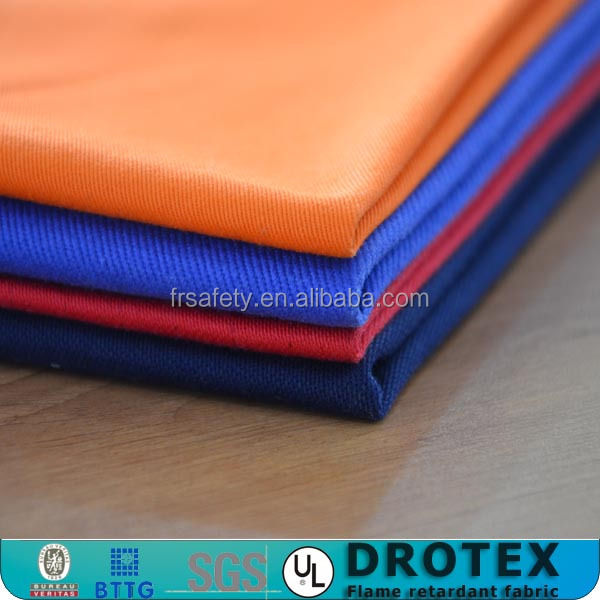 ecological EN11611 navy blue 88% cotton/12% percent nylon antistatic fire resistant fabric for safety clothing