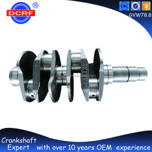 Popular Auto Parts Engine Crankshaft 78MM Stroke for VW