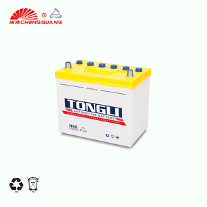 Superior Starter Lead Acid dry charged car Battery Car N50 12V 50AH Car battery