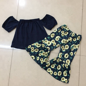 Kids clothing sets boutique baby clothes 2018 yiwu wholesale