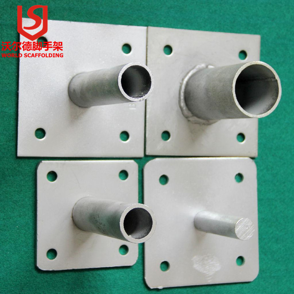 SCAFFOLDING ACESSORIES SCAFFOLDING SHORING SOLID SCREW JACK BASE 120*120*5mm Base Plate MADE IN CHINA