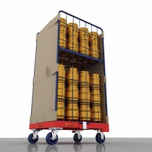 Heavy duty roll container faltbare supermarkt fracht CageTrolley Warenkorb