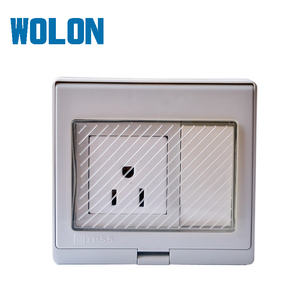 American new design electric light switch wall socket for home