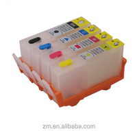 4 Colors 364 BK C M Y Empty Refillable Ink Cartridge with ARC Chip For hp364 Photosmart Pro B8550 5510 5515 6510 4620 Printer