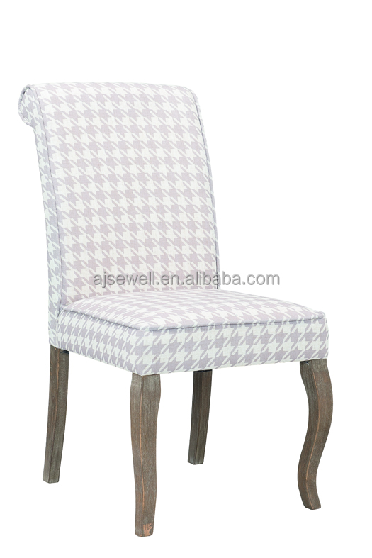 Modern Italian Style Wooden Relax Leather Upholstered Dining Chair