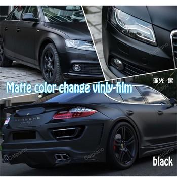 Black Matte Car >> Black Color Hot Sale Cars Change Color Film Matte Car Vinyl Wrap With Bubble Free 1 52 X 30m Buy Cars Change Color Film Matte Car Vinyl Wrap With