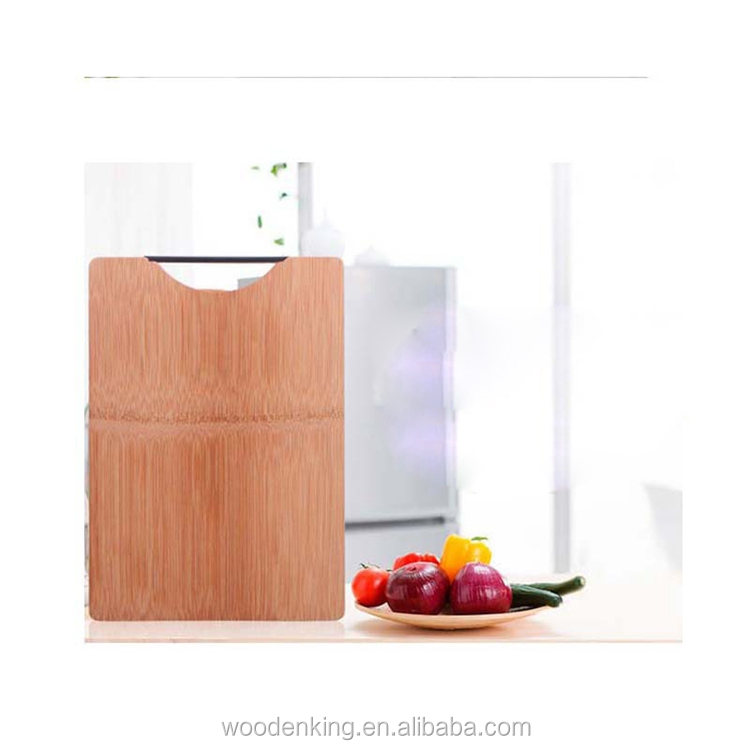 Fashion 2017 Kitchen Supplies Custom Logo Bamboo Cutting Board