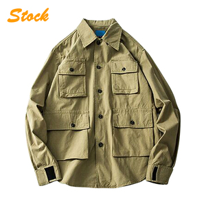 2018 Wholesale Man Motorcycle Winter Cotton Twill Jacket