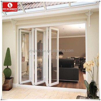 Balcony Exterior Door Industrial Folding Accordion Doors For Sale