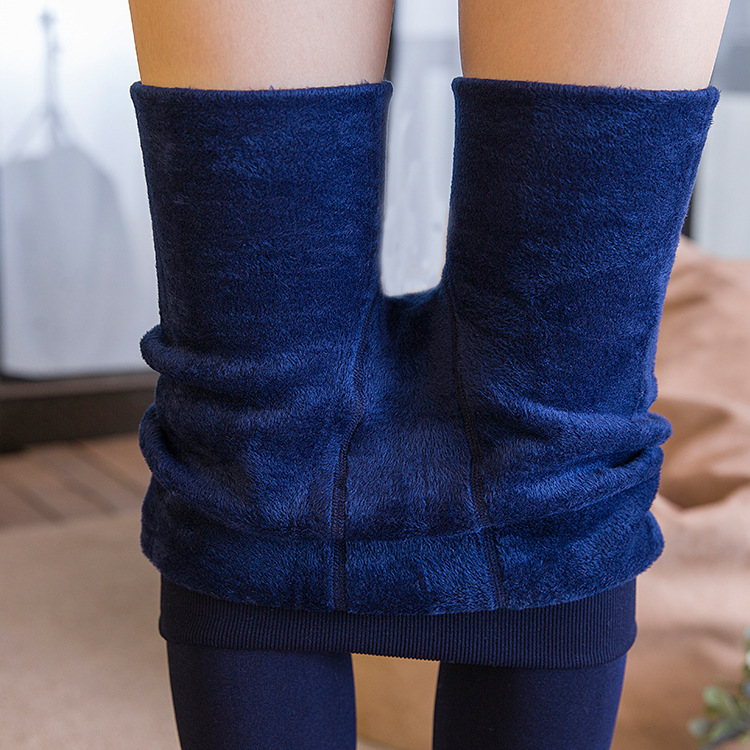 Wholesale autumn / winter Cashmere Tights High Quality Knitted Velvet Tights Elastic Slim Warm Thick Tights