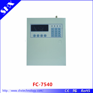 Metal case TCP/IP GPRS professional security alarm system FC-7540