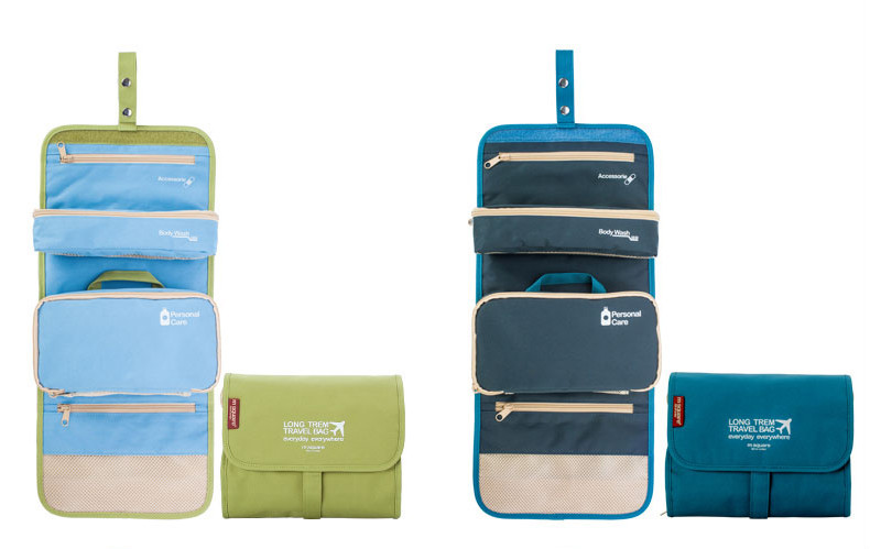 organizer hanging polyester travel toiletry bag foldable toiletry baghanging toiletry bag