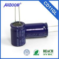 elect. capacitor special for LED lighting lower price long life