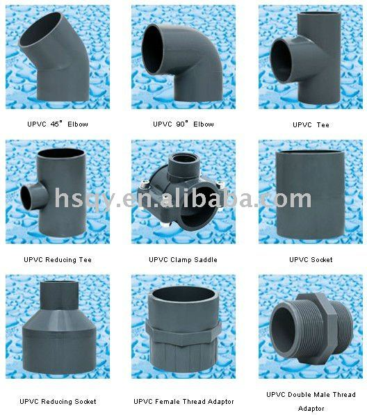 El suministro de agua potable de tuberia pvc herrajes - Tuberia agua potable ...