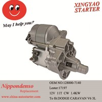 12V New motor vehicle used automatic starter to fit Dodge Avenue Caravan(128000-7140)