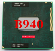 Lifetime warranty Pentium B940 2.0GHz Dual Core SR07S Notebook processors Laptop CPU PGA 988 pin Socket G2 Computer Original